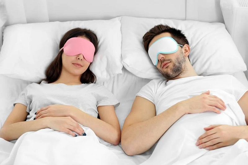 Shield Your Eyes from Light by Using a Sleep Mask